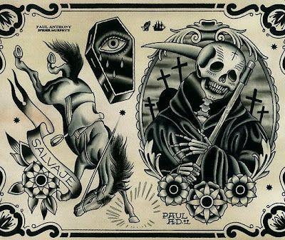 Tattoo Artist - Paul Anthony Dobleman [Spider Murphys Tattoo] - Traditional Style Tattoos