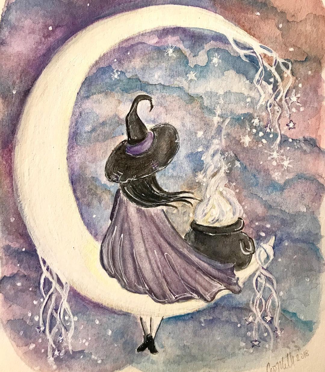 Friends ORIGINAL PAINTING fantasy watercolor illustration art FREE shipping worldwide
