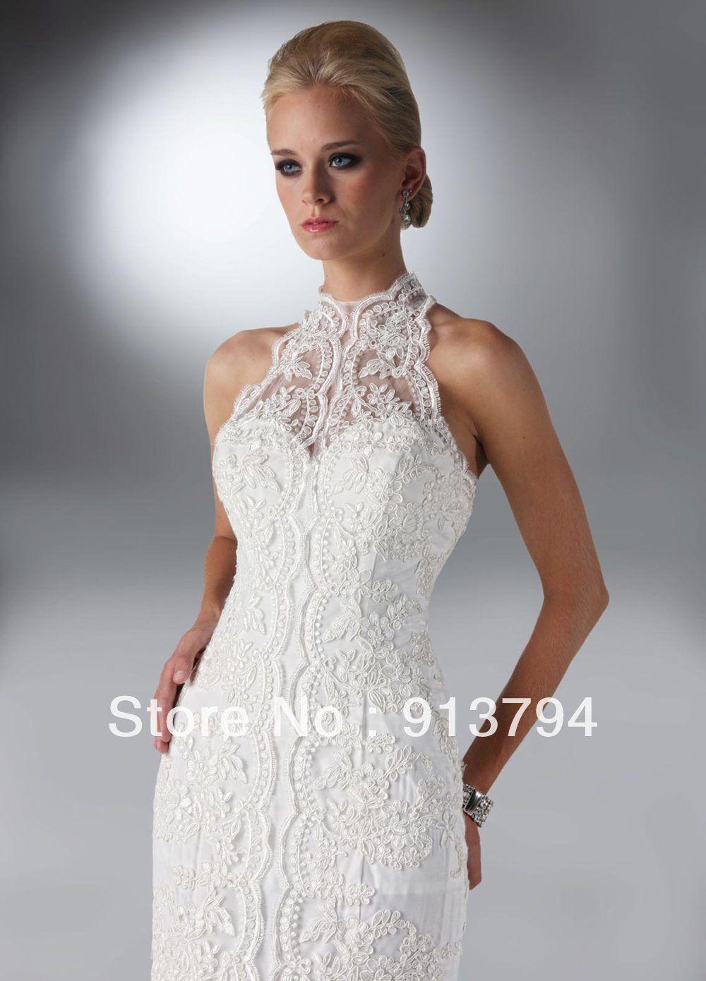 Elegant Halter Wedding Dresses