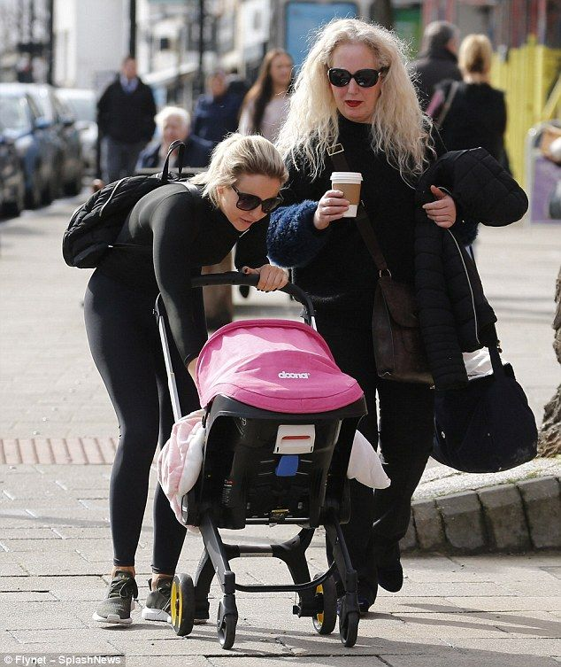 Lydia and Debbie have been spotted pushing our pink Doona