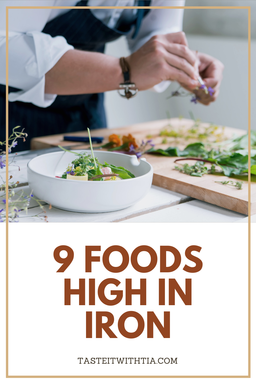 9 Foods High In Iron in 2020 Foods high in iron, Foods