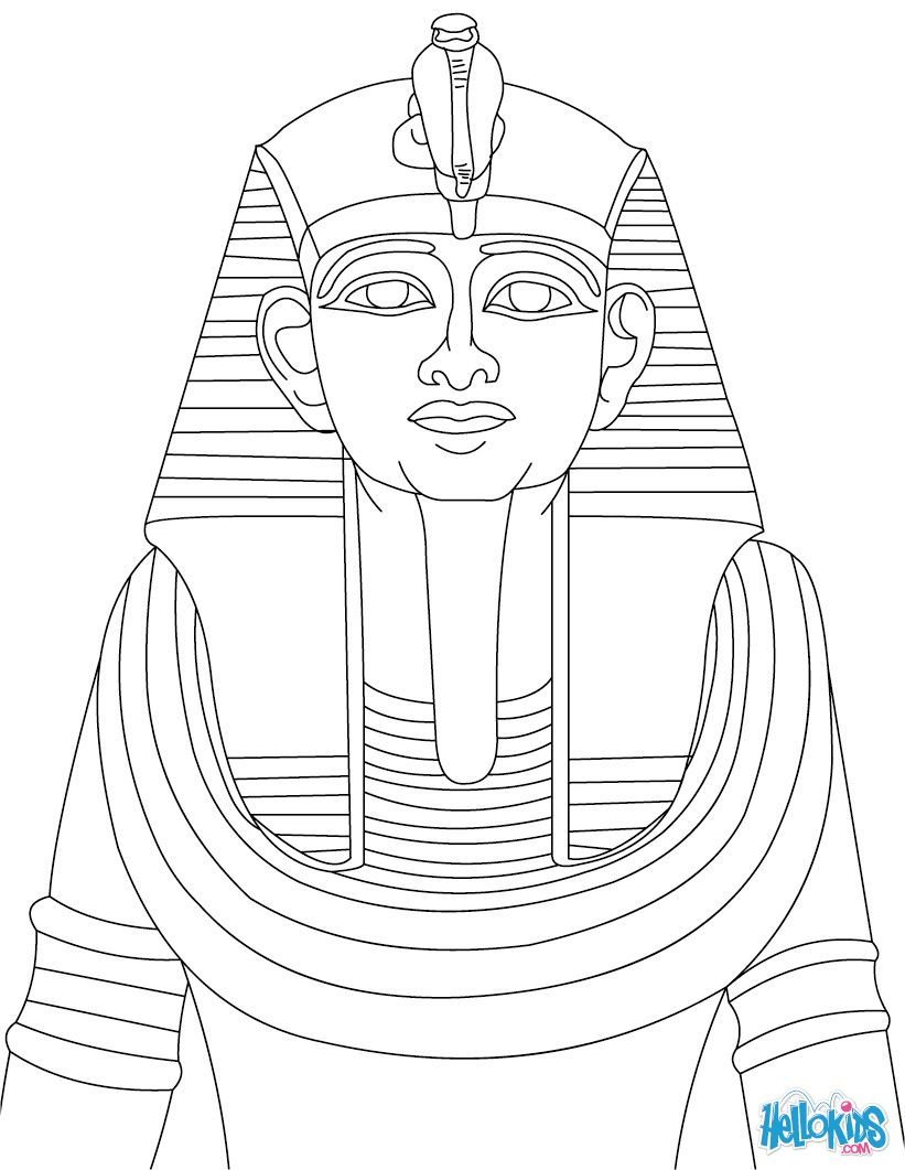 Clip Art Pharaoh Coloring Pages 1000 images about representaciones egipcias on pinterest egypt ancient and coloring