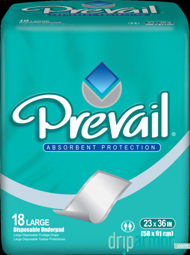 Prevail UP425 Prevail Night Time Disposable Underpads