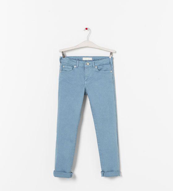 Pantalon Sarga Pantalones Nina 2 14 Anos Ninos Zara Mexico 369 Pantalones Para Ninos Pantalones Zara