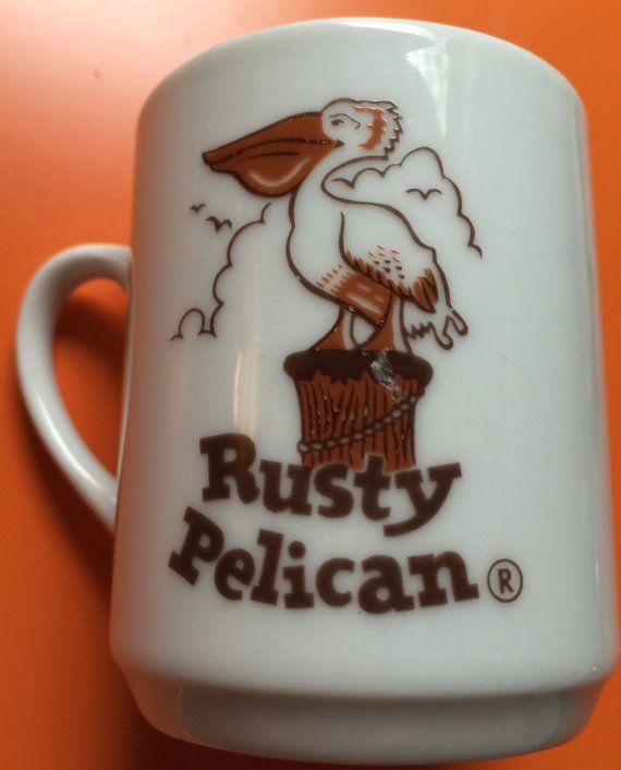 Rusty Pelican demi mug restaurant ware