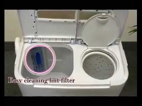SMALL WASHER DRYER COMBO Spin Machine Stack Side By Side Stackable ...