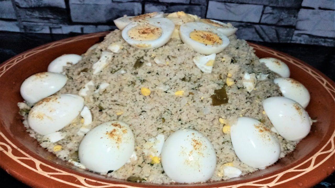 أكلة أمازيغية تفتالت صحية ولذيذة جدا غير بمكونات بسيطة موجودة في اي Food Breakfast