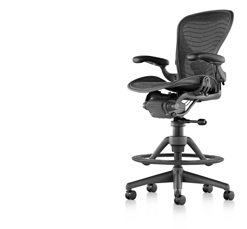 aeron stool herman miller home office pinterest stools