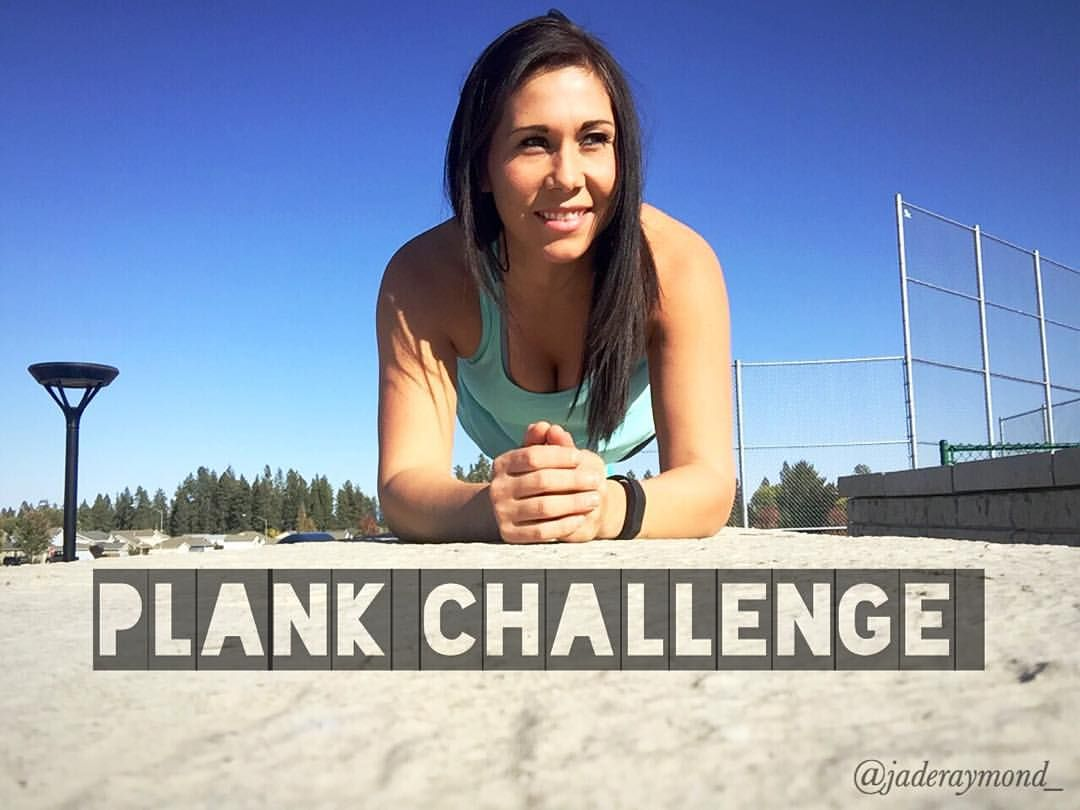 Today, GET DOWN AND PLANK
