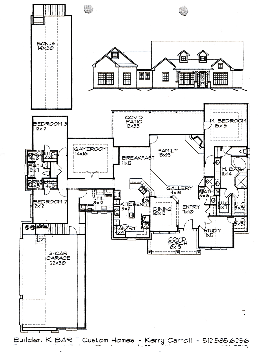 K Bar T Floor Plan #3 3550 Sq Ft: Modular 5 Room Floor Plan ...