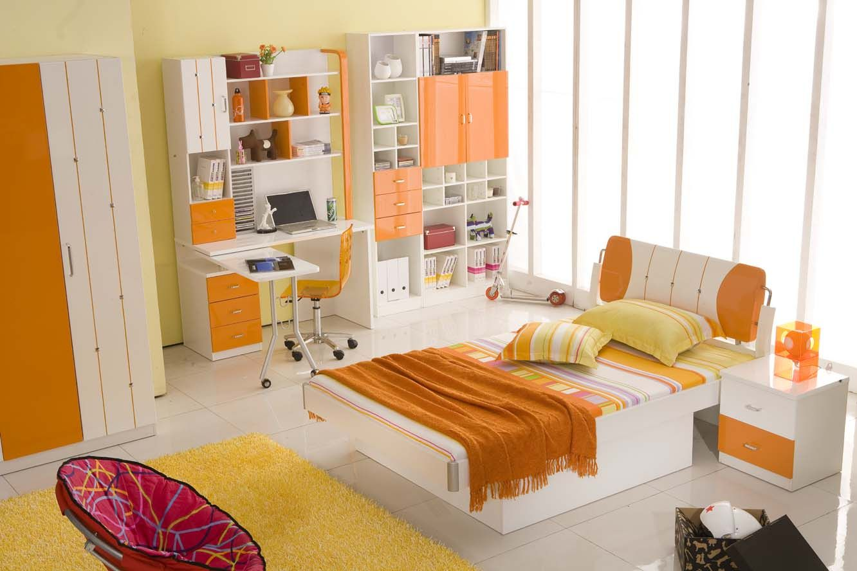 25+ Orange Bedroom Decor and Design Ideas for 2017 | Orange ...
