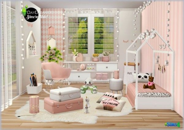 SIMcredible Designs Day Dream Play Room • Sims 4 Downloads