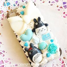 Custom Decoden for Totoro phone case for iPhone 4/4s, 5, samsung galaxy - Ready To Ship ◄◄◄ Enter The Contest To Get the Samsung Galaxy® Note5...I Hope You Are Fortunate To Win One Of Them ►►►