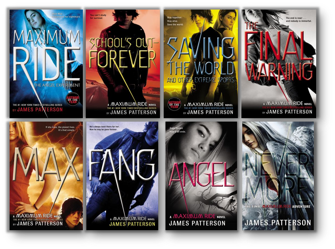 Never Judge A Book By It S Cover Book Review Blog James Patterson Books Maximum Ride James Patterson