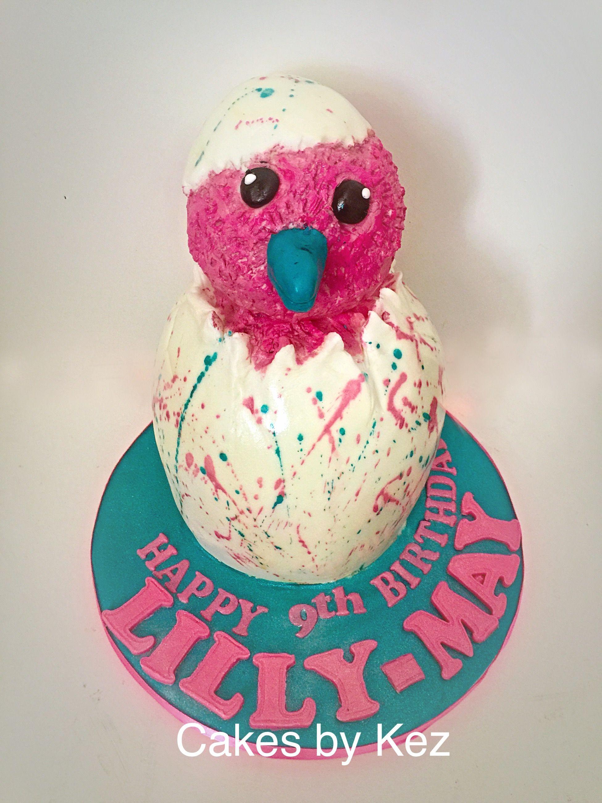 My Hatchimal Cake 8th Birthday Stuff Girl