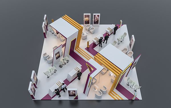 Quot Astrazeneca Quot Exhibition Booth Dubai On Behance