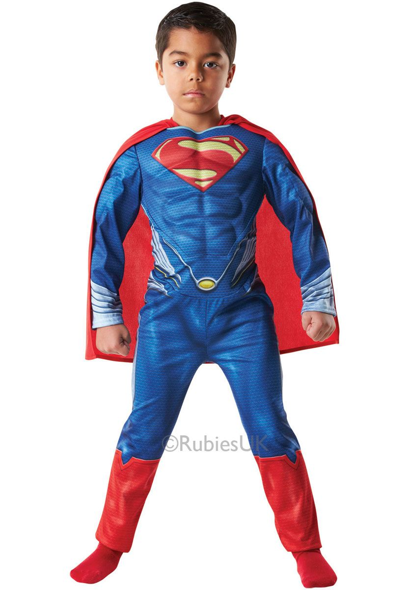 Official Man of Steel Kids Muscle Chest Superman Costume - General Kids Costumes at Escapade™ UK - Escapade Fancy Dress on Twitter @Escapade_UK  sc 1 st  Pinterest & Official Man of Steel Kids Muscle Chest Superman Costume - General ...