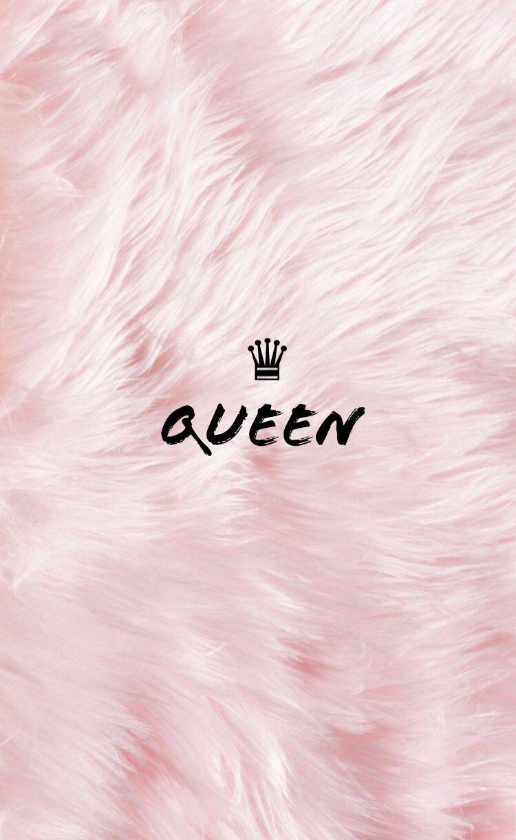 Furry Pink Queen King Couple Wallpaper C O U P L E W
