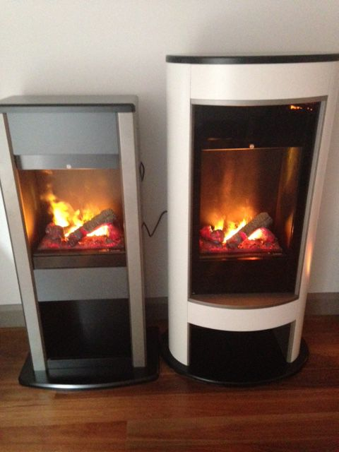 Both The Dimplex Cubic Mocca Electric Fires Feature The