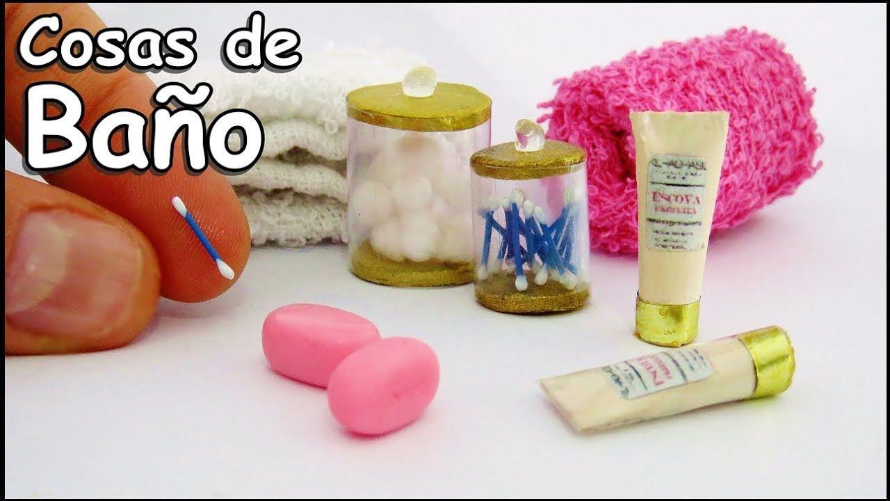 Cosas De Baño Para Muñecas Barbie Bastoncillos Jabon Shampoo Como Hacer Como Hacer Miniaturas Manualidades En Miniatura Hacer Miniaturas