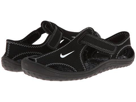 40931ccdb698 Nike Kids Sunray Protect (Little Kid) Black White Dark Grey - Zappos.com Free  Shipping BOTH Ways