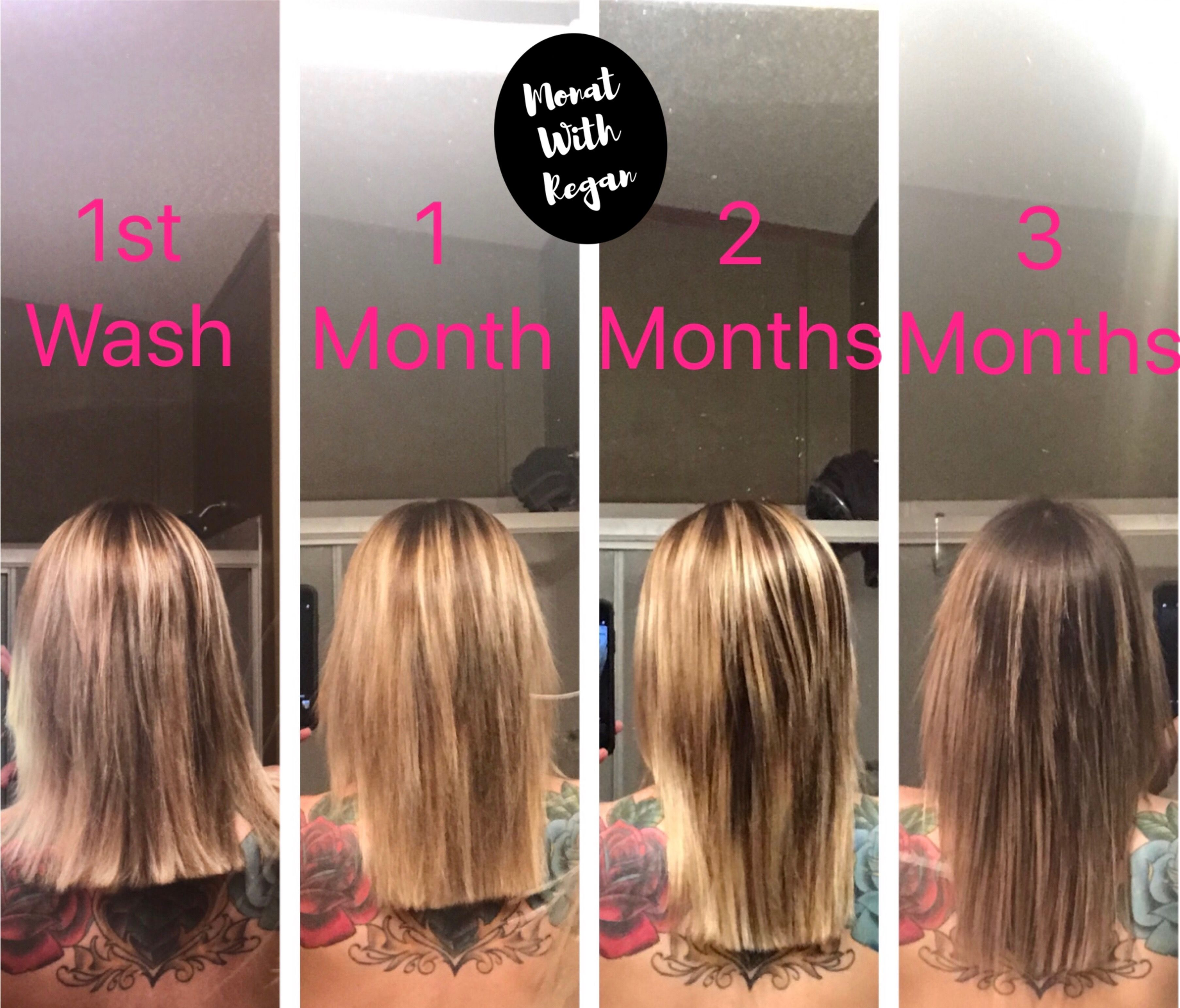 Thyroid problems? Monat saved my hair! Before and after