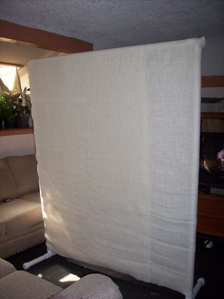 PVC Room Divider Cheap and Easy Divider Room and Dorm