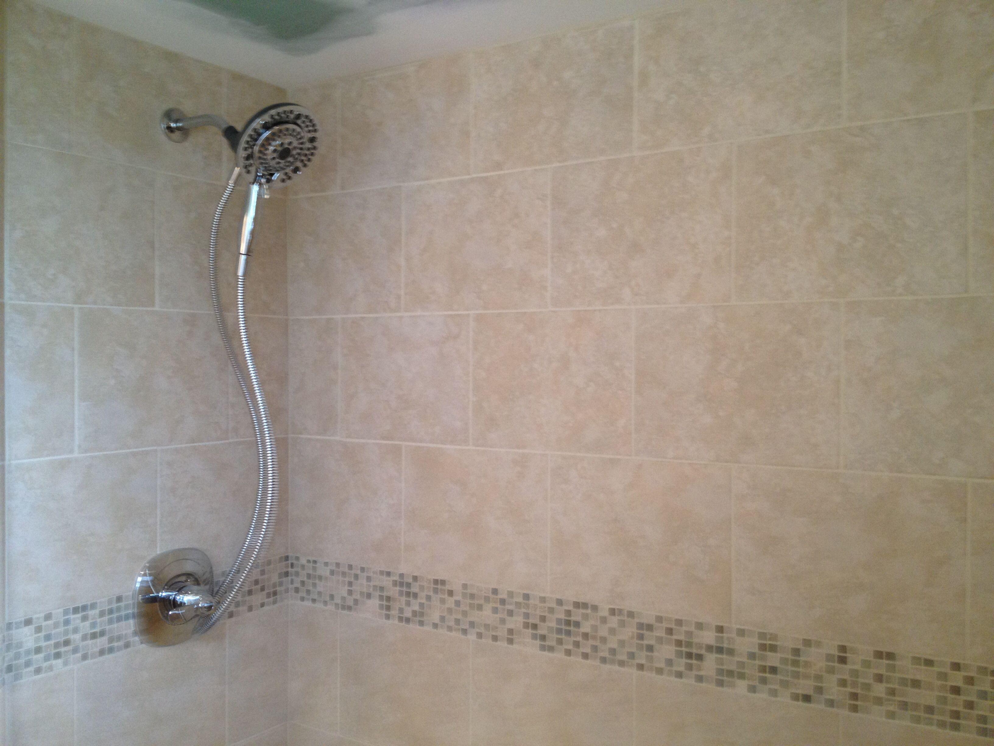 Mid america tile elk grove village - Master Bath Shower 10 X 13 Walls And 2 X 2 Floor Florida Tile