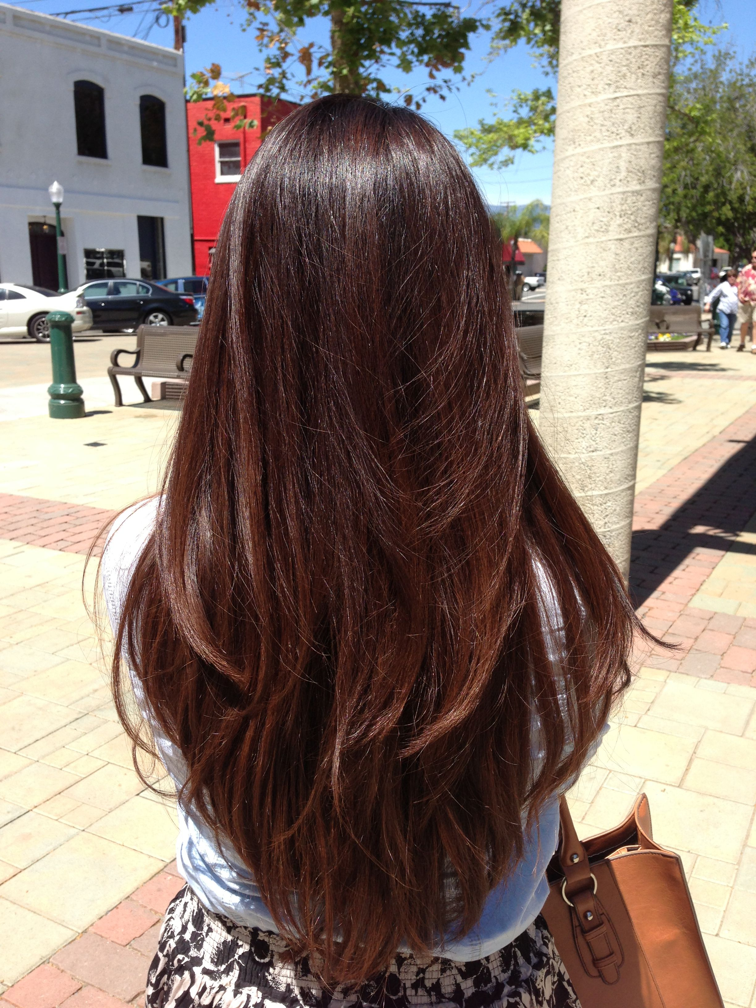 Partial Highlights On The Lower Half Of My Hair Hair Inspiration