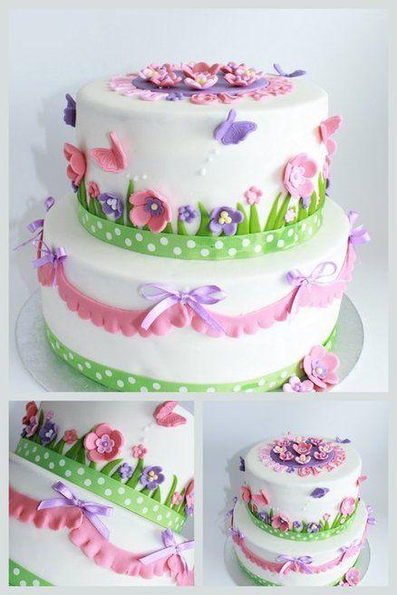 Simply pretty cake by dutchcakes cakes cakes more cakes cake designs mightylinksfo