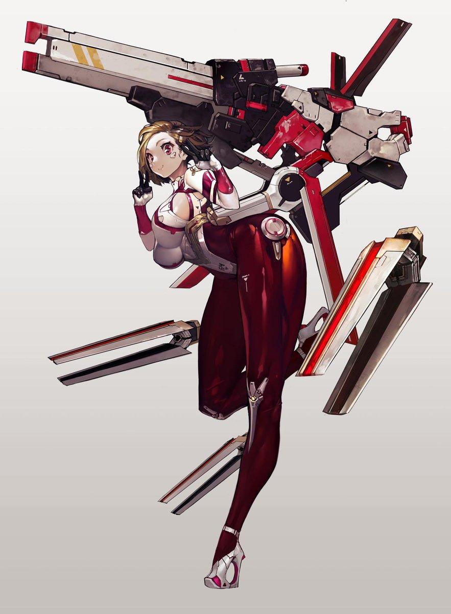 Duto_듀토(최효찬) on Cyberpunk anime, Sci fi characters