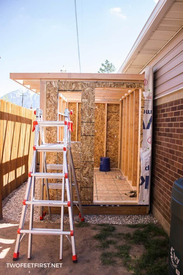 Build a leanto roof for a shed in 2020 building a shed