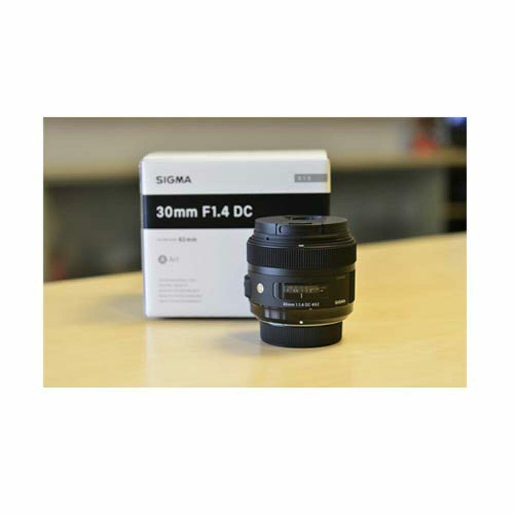 Sigma 30mm F 1 4 Dc Hsm Art Wth Hood Lens Nikon Aps C From Eu Vite Aps C Sigma Nikon
