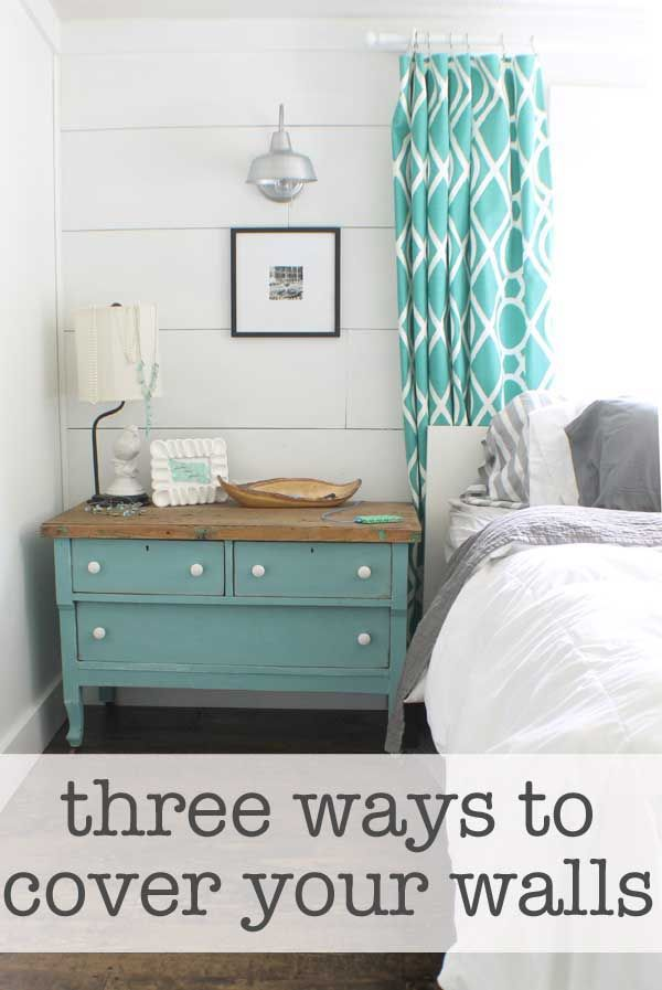 Three ways to cover mobile home walls   Third, Walls and Bedrooms