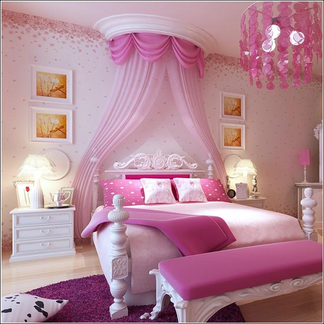 صور ستائر غرف نوم بنات ستاره شيك لغرفة البنات رسائل حب Pink Bedroom Design Teenage Girl Bedroom Decor Stylish Bedroom