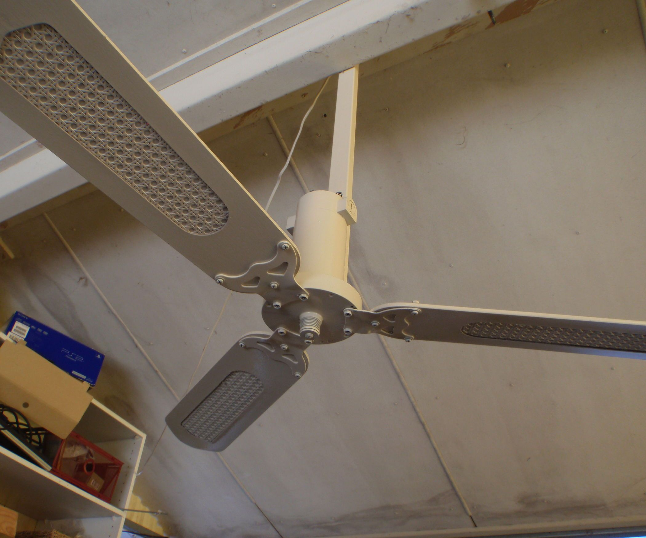Solar Powered Ceiling Fan Chirstmas Gift Ceiling Fan Ceiling Fan Diy Solar Powered Fan