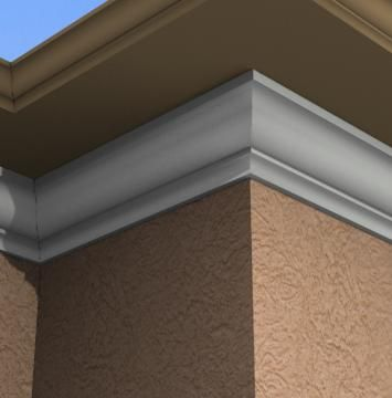 Pin On Exterior Crown Cornice Moulding