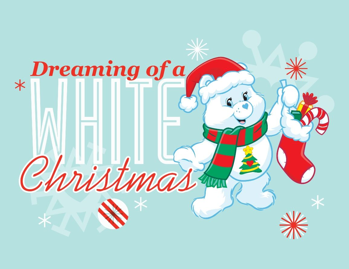 Christmas Wishes Bear.Dreaming Of A White Christmas Meet The Care Bears Care
