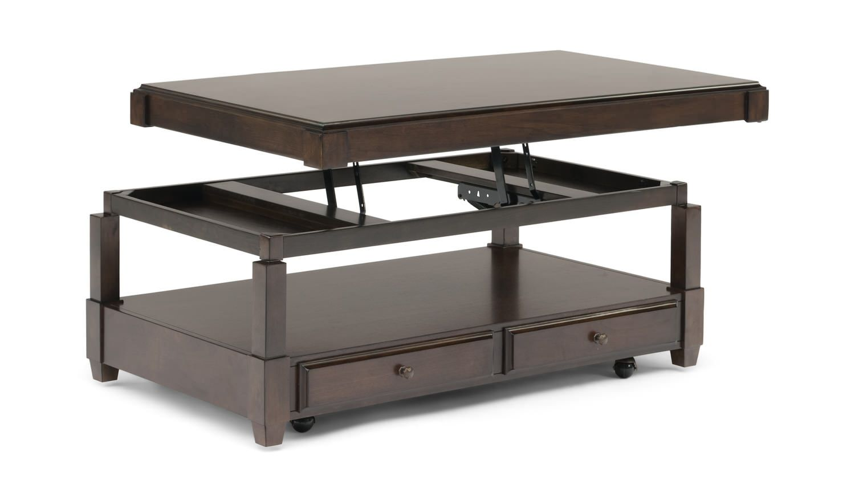 Halsey Lift Top Coffee Table Hom Furniture In 2021 Coffee Table Lift Top Coffee Table Cool Coffee Tables [ 872 x 1500 Pixel ]