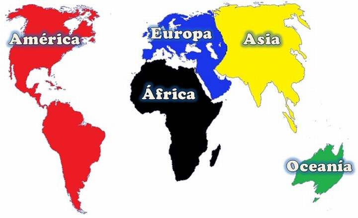 Cuántos y cuáles son los continentes | Continentes y océanos ...