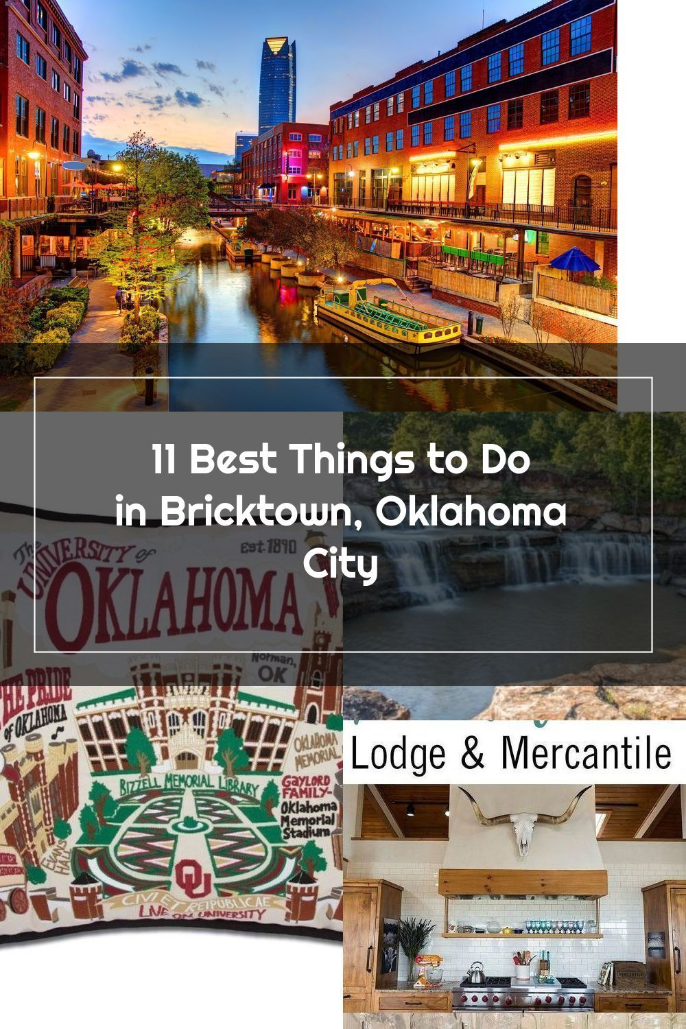 Best Things To Do In Bricktown Oklahoma City In 2020 Things To Do Bricktown Oklahoma City Oklahoma