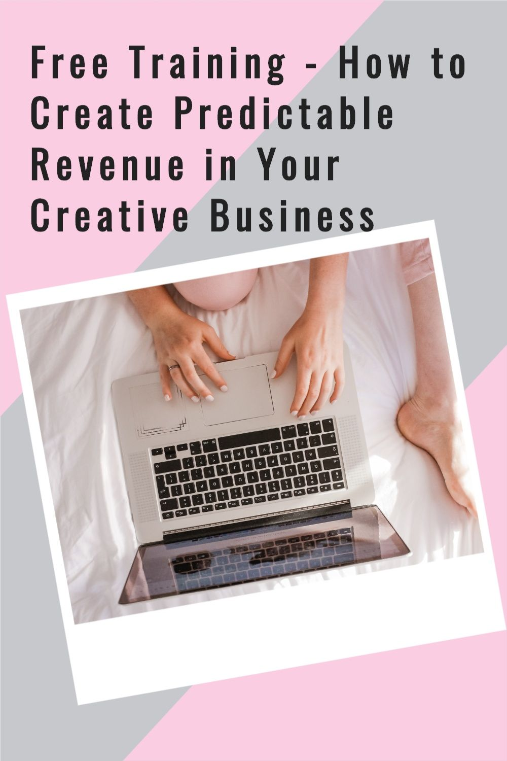 Are you a creative business side-hustler but struggle with creating consistent revenue for yourself? Join the free training where I share 3 simple steps to growing your creative business #creativebusiness #creativeentrepreneur #sidehustle