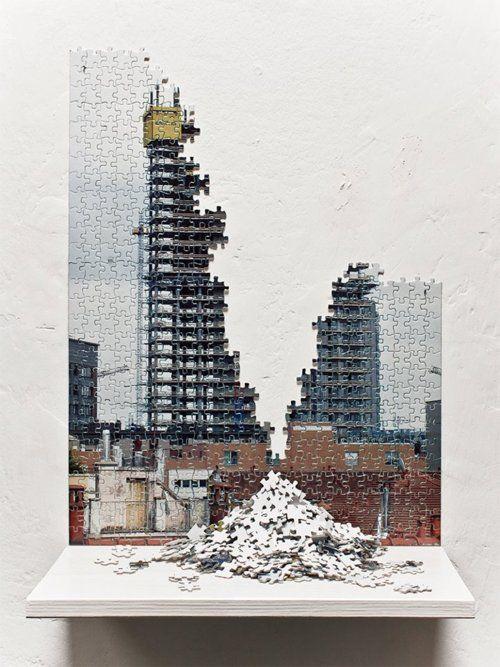 Fabrizio Bellomo, Broken Buildings.
