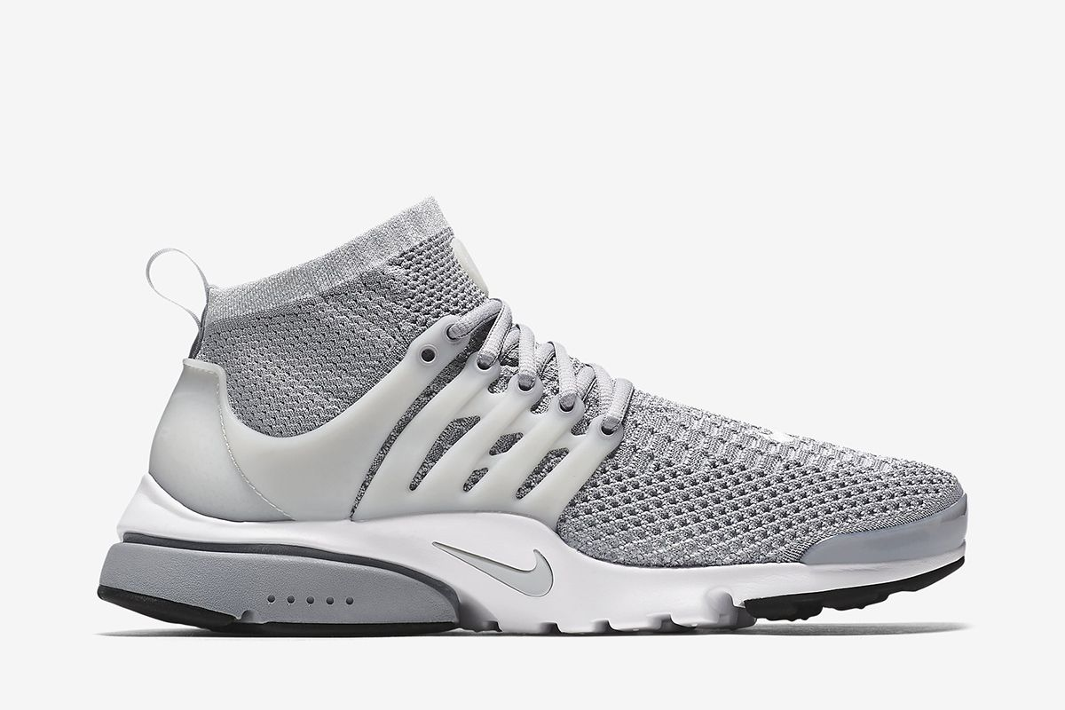 ef8d4c757 Nike Air Presto Ultra Flyknit Men's Shoe: Wolf Grey/White/Black/Pure  Platinum