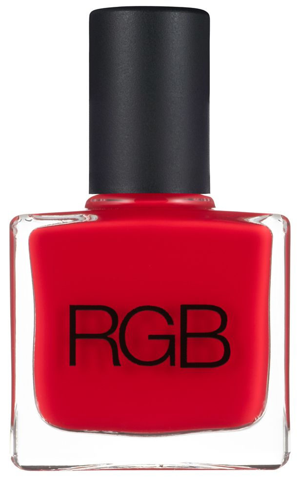 RGB 5 Free Nail Polish Too Red is the Standout, the Showoff - the high impact, candy apple red creme shade. Hello Charlie - RGB 5 Free Nail Polish Too Red, $20.95 (http://www.hellocharlie.com.au/rgb-5-free-nail-polish-too-red/)