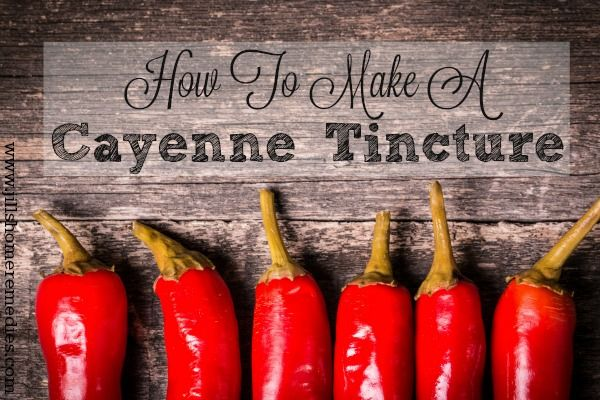how to take a tincure
