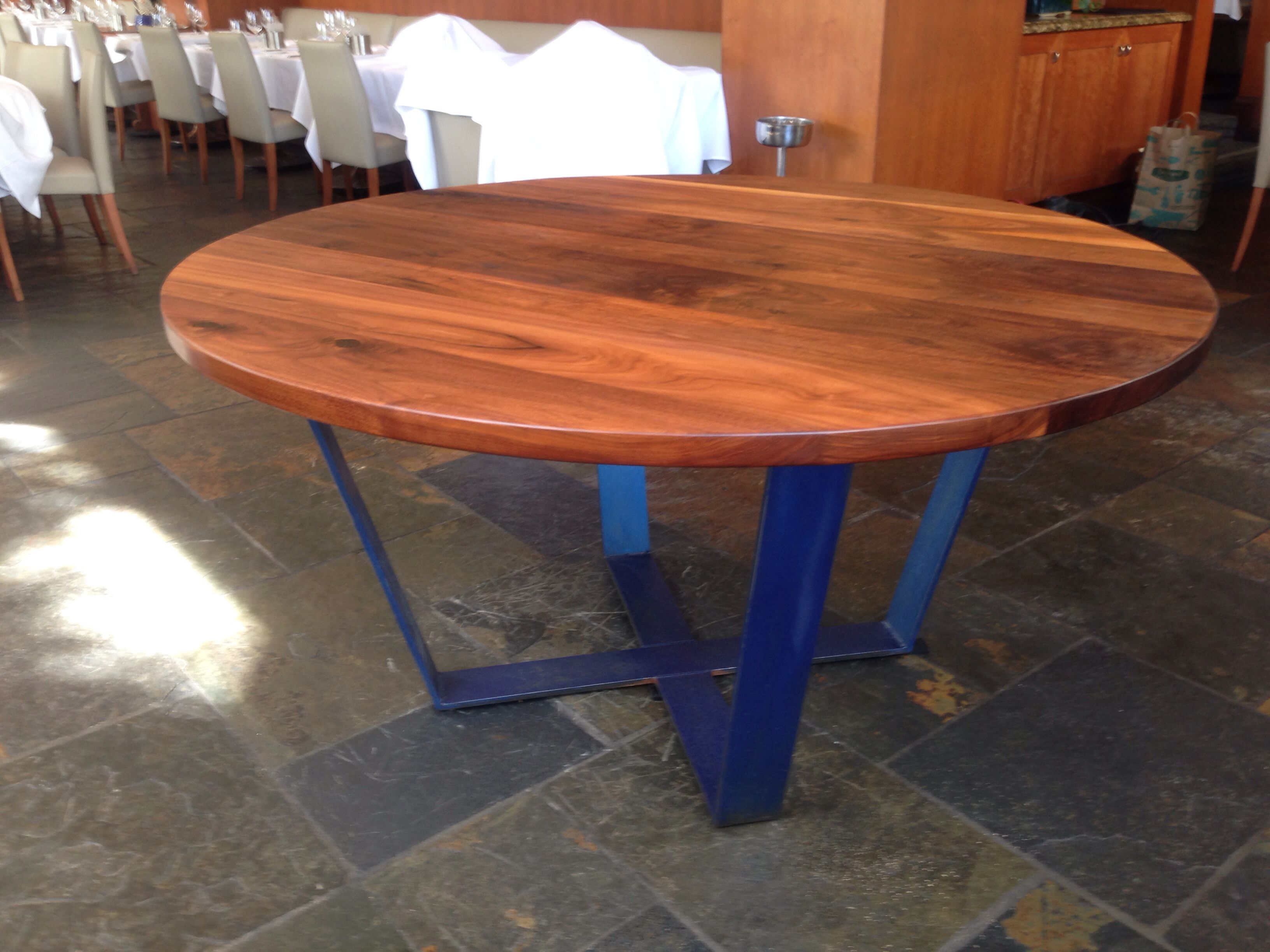 Captivating Custom Steel Table Base For Round Table