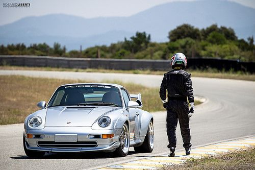 Sergio Robbiano and his 993 GT2
