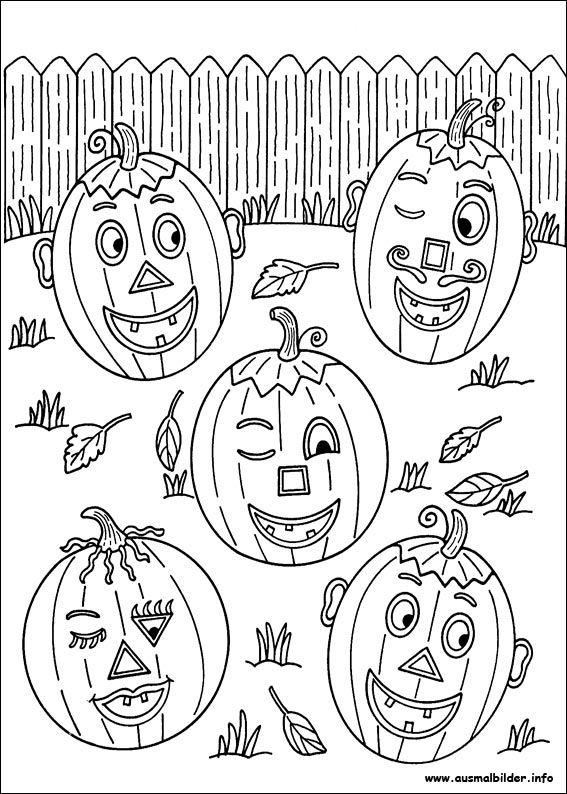 lustige Kürbisse   Halloween   Pinterest   Lustige Kürbisse, Kürbis ...