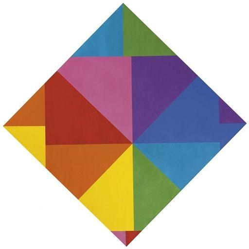 bauhaus farben acht im horizontal diagonal quadtrat artist max bill completion date 1965 mischen preis